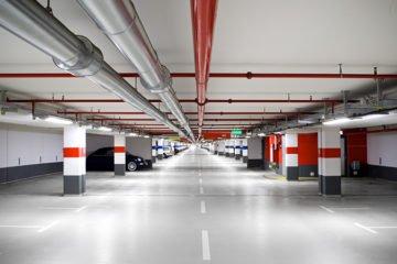 Impermeabilização de estacionamento